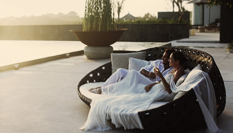 Romantic Evening at Villa Resort in Bali