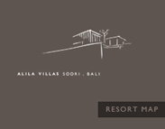 Alila Villas Soori Resort Map Logo