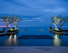 Alila Villas Soori  Night View of the Pool