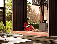 Calm & Quite Environment of Alila Villas Soori