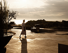 Sunset at Alila Villas Soori
