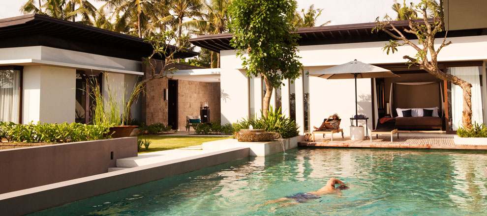 Relaxing Setting of an Exquisite Bali Residence