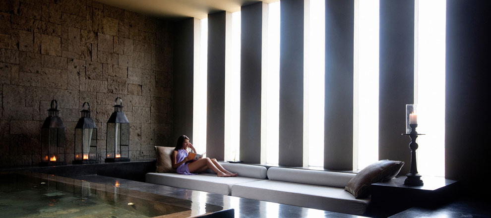 Relaxing at Alila Villas Soori Luxury Spa