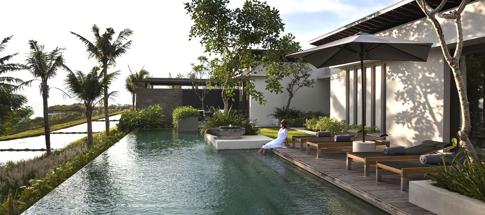Private Pool at Three Bedroom Residence in Bali