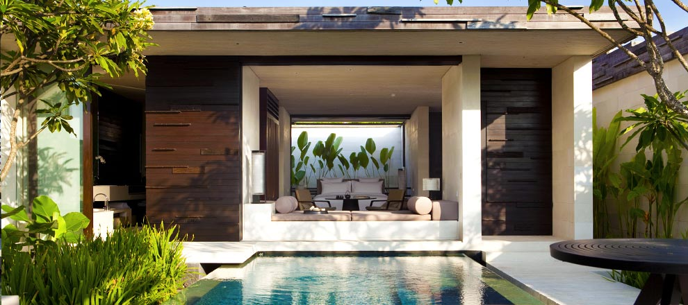 Private Pool at One-Bedroom Pool Villa in Uluwatu