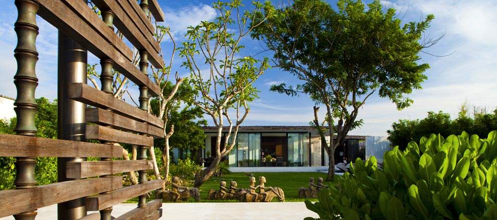 Peaceful Surroundings of Three-Bedroom Pool Villa at Alila Uluwatu