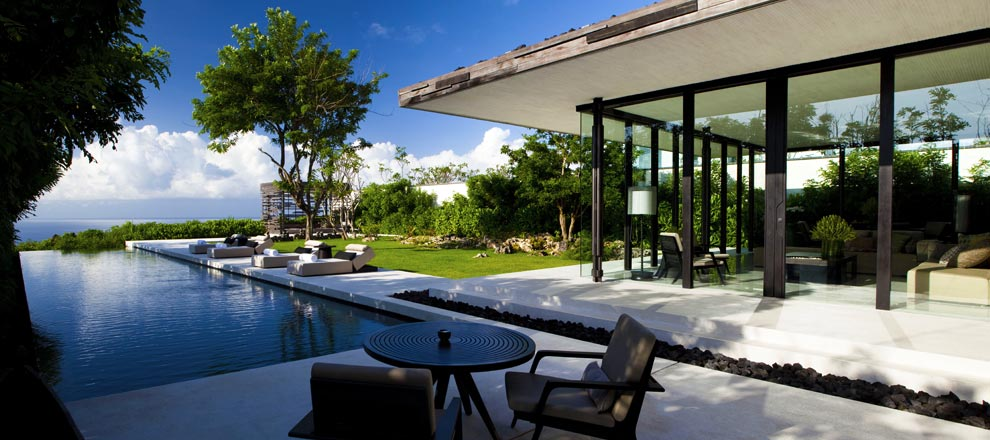 View of Luxurious Three Bedroom Family Villa in Bali