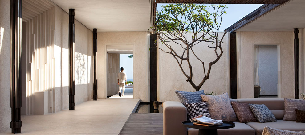 Route to Three-Bedroom Pool Villa at Alila Uluwatu